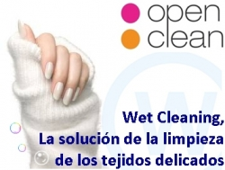 wetcleaning Open Clean. Tecnología ecológica